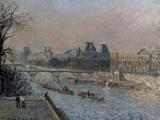 Le Louvre, Apres-Midi, 1902 Prints by Camille Pissarro