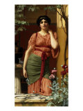 Nerissa, 1906 Poster by John William Godward