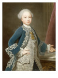 Victor Amadeus III of Savoy (1726-1796) wearing the Collar of the Order of the Annunciata Giclee Print by Giorgio Domenico Dupra