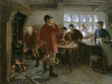 The Morning of the Hunt, 1906 Giclee Print by Ralph Hedley