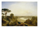 The Thames from Twickenham, 1843 Lámina giclée por James Baker Pyne
