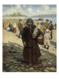 Travellers on the Volga, 1919 Giclee Print by Vladimir Egorovic Makovsky