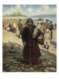 Travellers on the Volga, 1919 Posters by Vladimir Egorovic Makovsky