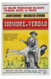 McLintock, Argentine Movie Poster, 1963 Prints
