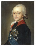 Emperor Pavel Petrovich (Reigned 1796-1801) Posters by Vladimir Lukich Borovikovsky