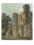 Battle Abbey, Kent Giclee Print by Thomas Girtin