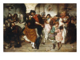 Ballo Mazurka Poster by Egisto Lancerotto