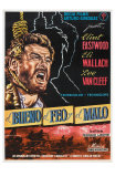 The Good, The Bad and The Ugly, Spanish Movie Poster, 1966 Posters