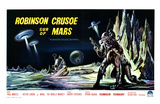 Robinson Crusoe on Mars, Belgian Movie Poster, 1964 Poster