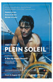 Purple Noon, UK Movie Poster, 1964 Kunstdrucke