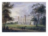 View of Cassiobury House, Hertfordshire Giclee Print by Henry Edridge