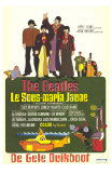 Yellow Submarine, French Movie Poster, 1968 Prints