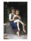 Les Cerises Giclee Print by Elizabeth Bouguereau