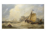 Morning after a Gale off the Yorkshire Coast Giclee Print by John Callow