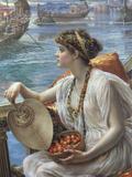 A Roman Boat Race, 1889 Print by Edward John Poynter