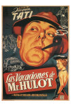 Mr. Hulot&#39;s Holiday, Spanish Movie Poster, 1953 Posters