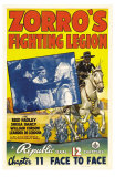 Zorro's Fighting Legion, 1939 Prints