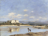 Antibes - Le Fort Carre, 1893 Prints by Eugène Boudin