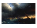 The Survivor, 1853 Giclee Print by Ivan Konstantinovich Aivazovsky