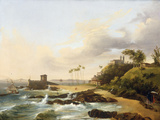 Bahia, 1839 Giclee Print by Abram Louis Buvelot