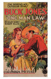 One Man Law, 1932 Print