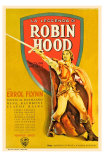 The Adventures of Robin Hood, French Movie Poster, 1938 Poster
