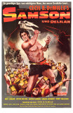 Samson & Delilah, German Movie Poster, 1949 Posters