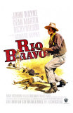 Rio Bravo, German Movie Poster, 1959 - Poster