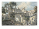 The Upper Gate, Conway, Wales Posters by Paul Sandby