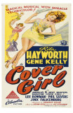 Cover Girl, Australian Movie Poster, 1944 Posters