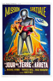 The Day The Earth Stood Still, French Movie Poster, 1951 Posters