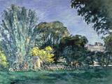 Arbres au Jas de Bouffan, c.1875-6 Prints by Paul Cézanne