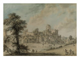 Pembroke Castle from the North East Posters by Paul Sandby