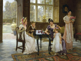 The Time of Roses, c.1901 Giclee Print by Charles Haigh-Wood