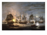 The Battle of the Nile, August 1st 1798, 1830 Giclee Print by Thomas Luny