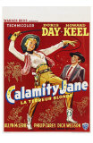 Calamity Jane, Belgian Movie Poster, 1953 Posters