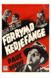 I Am a Fugitive From a Chain Gang, Swedish Movie Poster, 1932 Prints