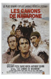 The Guns of Navarone, French Movie Poster, 1961 Print