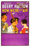 Now We're in the Air, 1927 Poster