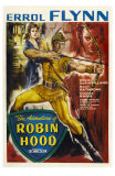 The Adventures of Robin Hood, UK Movie Poster, 1938 Poster