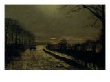 Wharfedale, 1872 Giclee Print by John Atkinson Grimshaw