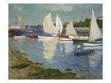 Le Port De L'Orient, 1890 Giclee Print by Henry Moret