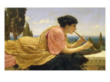 The Melody, 1904 Art by John William Godward