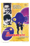 The Apartment, Spanish Movie Poster, 1960 Photo
