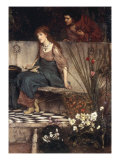The First Reproach Prints by Lawrence Alma-Tadema