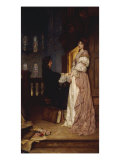If Music be the Food of Love Giclee Print by William A. Breakspeare
