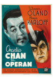 Charlie Chan at the Opera, Swedish Movie Poster, 1936 Posters