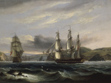 View up the Teign Giclee Print by Thomas Luny