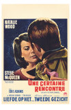 Love With the Proper Stranger, Belgian Movie Poster, 1964 Print