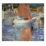 Cap Ferrat Giclee Print by George Leslie Hunter